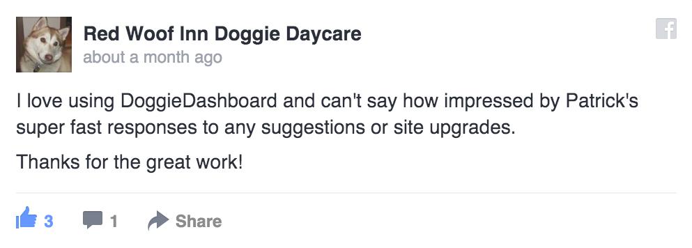 DoggieDashboard   Free Dog Daycare & Kennel Boarding Software